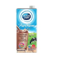Dutch Lady Purefarm Uht Milk - Chocolate (1L X 3)