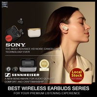 Local Seller! Sennheiser Momentum True Wireless / SONY WF-1000XM3 Wireless Earbuds / Earphones. Best Earbud Series