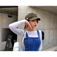 Bellee 正韓【H10301】 編織扣可拆熱銷軍帽 (5色)  預購
