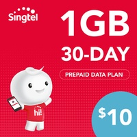 Singtel Data Package - 1GB (30 days)
