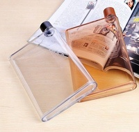 ●MY COLOR●筆記本便攜水瓶 水壺 A5 紙張 隨身 扁平 戶外 運動 學生 上班族 創意 420ml【Q191】