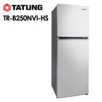 【TATUNG 大同】250L變頻雙門冰箱 (TR-B250NVI) ~ 含基本安裝