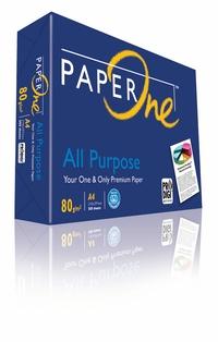 PAPER-ONE A4影印紙 80磅 10包入 /組 (藍包)