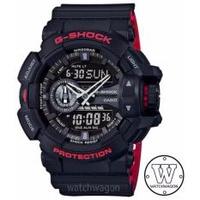 Casio G-Shock GA-400HR-1A Watch Black & Red