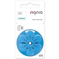 盒裝 助聽器電池*10排 德國西門子 Signia原廠助聽器電池 P675 【有效期限至2021.08】