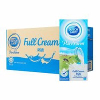 [[Carton Sale]] Dutch Lady Full Cream UHT Milk 1L *12 packet per carton