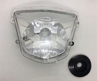 【JUST醬家】新GTR 125  GTR aero 噴射 前大燈 前燈組 大燈組( 透明色)
