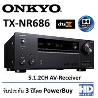 ONKYO AV-RECEIVER รุ่น TX-NR686 Black