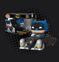 FUNKO POP - BATMAN - BATMAN WITH 1950 BATMOBILE 80TH ANNIVERSARY RIDES