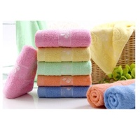 VANDER children's cotton candy cotton towel wash towel adult absorbent cotton towel sports towel easy to dry towel - intl