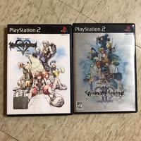 PS2遊戲片 王國之心1 王國之心2 公仔 盒玩