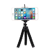outlet Tripods tripod for phone Mobile phone holder Clip smartphone monopod tripe stand octopus mini