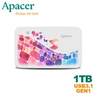 【Apacer宇瞻】AC233 1TB 行動硬碟