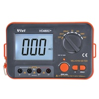 Vici VC480C+ 3 1/2 LCD Digital Milli-ohm Meter Resistance Tester 4 Wire Test