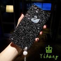 10 VIVO V9 V7 V5 Plus Lite Y83 Y55 Y53 Y71 Y51 Personalized Cute Swan tassel Case
