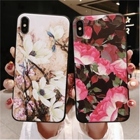 VIVO Y71 Y85 V9 Y83 Y79 Y75 V7 Y67 V5 Y66 Fashion Flower Pattern Case Cover