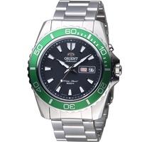 【山姆大叔工作坊】ORIENT 東方錶 綠水鬼 200M 鋼帶 自動上鏈機械錶 全新原廠公司貨 FEM75003B