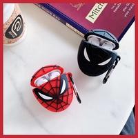 『蜘蛛俠』現貨> AirPods保護套 蘋果AirPods1/2代保護套 漫威超級英雄蜘蛛人 毒液 全包硅膠防摔耳機套