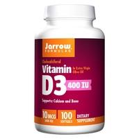 [公司貨]【Jarrow 賈羅公式】非活性維生素D3軟膠囊(100粒/瓶) [現貨免運]