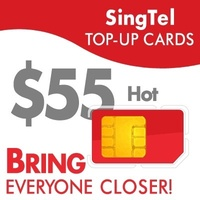 SingTel HOT$55 Top-Up