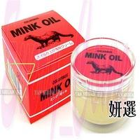 【姍伶】女人我最大推薦日本COLUMBUS貂油MINK OIL皮革保養油 盒裝