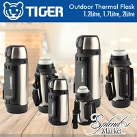 TIGER Outdoor Adventure Essential Thermal Flask / Bottle / Mug Keeps Drinks Hot or Cold for 6-12 Hrs