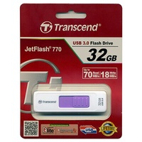 【文具通】Transcend 創見 32GB JetFlash770 隨身碟  TS32GJF770 E1190043