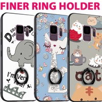 Finger Ring Holder case cover for Samsung S9 S9 Plus iPhone X 8 7 6 OPPO R15 R11S R9S Huawei mate 10