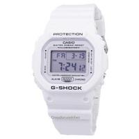 Casio G-Shock Quartz Digital 200M Men's White Resin Strap Watch DW-5600MW-7