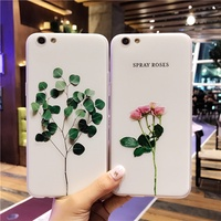 3D Flower Phone Case Cover for OPPO R9 R9S R11 Plus Creative Relief Painting Soft Case