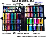 Aluminum box children s paintbrush suit art learning appliance drawing tool painting crayon girl wat