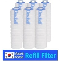 Dewbell Refill Filter F15 Economy Type (12pcs)/Water Filter/Made in korea