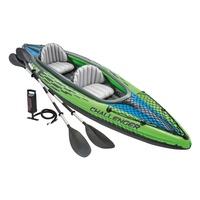 【戶外方舟】Intex Challenger K2雙人獨木舟橡皮艇