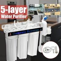 5 ขั้นตอนระบบกรองน้ำย้อนกลับ Osmosis ก็อกน้ำดื่มบ้าน