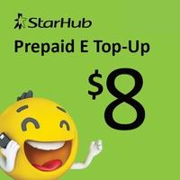 Starhub Prepaid eTopUp SGD8