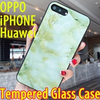 Tempered Glass casing cover for OPPO R11 OPPO R9S OPPO R9 Plus iPhone X 8 7 6 iPhone8 Plus casing