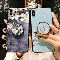 laday love Ring Holder Stand Phone Case For Huawei Mate 10 20 Pro lite 20x 8 9 Nova 2i 2 Plus 2s 3 3