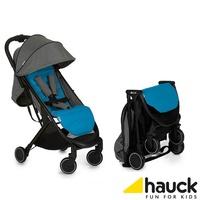 德國 hauck  Swift 輕量秒收可登機嬰幼兒手推車-波斯藍 贈原廠收納袋及座墊 -廠商直送 大樹