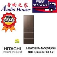 HITACHI R-HW530JS-XH 401L 6 DOOR FRIDGE ***1 YEAR WARRANTY BY HITACHI *** FREE DELIVERY ***