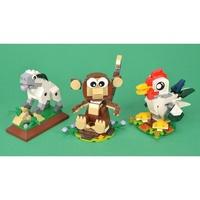 全新未拆 樂高 lego LEGO 40148 40207 40234 羊年 猴年 雞年限定 3盒一起出售4500元