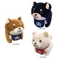 日本 忠犬 柴犬 米店 豆柴 柴犬娃娃 絨毛娃娃 玩偶 娃娃 黑柴 黃柴 白柴 S