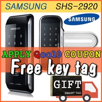 Samsung Digital Doorlock SHS-2920 // Gateman WF20 // WF21 //  WV40 // Free Tag key or Korean Socks