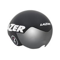 【LAZER 自行車安全帽】VICTOR 三鐵/計時安全帽 消光黑色