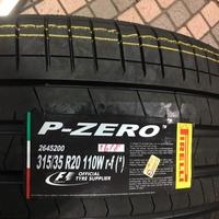 全新 倍耐力 PIRELLI PZERO 315 35 20 失壓續跑胎 BMW X5 X6