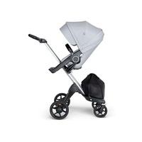 Stokke® Xplory® V6嬰兒手推車(座椅淺灰麻)