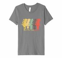Guitar Music Tees Vintage Guitar T-Shirt Headstock Guitar Gift Men