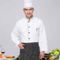 Feng ben Restaurant Kitchen Hotel Chef Service Uniform Long Sleeve Male Chef Clothing Hotel Work Clothes Fall And Winter Clothes