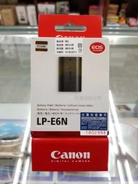 佳能 Canon LP-E6N 原廠電池  通LPE6 佳能公司貨  全新包裝 適用EOS 5D4/5D3/6D/80D 可傑