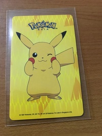 Pokemon Pikachu Ezlink Card
