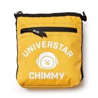 LINE FRIENDS BT21 Official Merchandise by Line Friends - TATA Shoulder Messenger Bag Sacoche Purse,